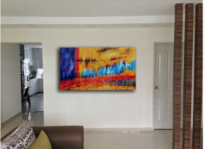 Abstract Paintings 001 I Artisan Malaysia